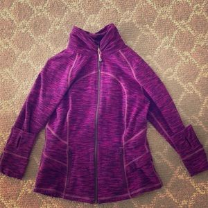 Purple/pink lulu lemon zip up 8
